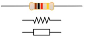 Resistor dan bentuknya,simbol resistor,bentuk resistor