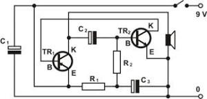 Rangkaian Elektronika,Skema Rangkaian ElektronikaElektronika