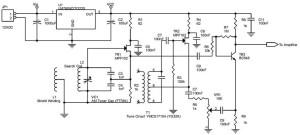 Blok Osilator Sensor Dan Osilator Beat Untuk Detektor Logam