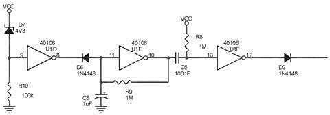 Rangakaian Detektor Low Baterry Alarm Cahaya Untuk Tempan Penyimpanan