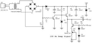 Rangkaian Ramp Generator Untuk Dimer 4 Chanel,rangkaian dimmer,skema dimmer,membuat dimmer
