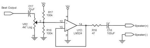 Blok Rangkaian Buffer Untuk Detektor Logam Dengan Metode Beat Frequency