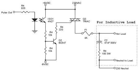 Aplikasi Triac Untuk Rangkaian Dimmer Lampu AC 220V