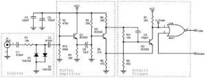 Rangkaian Audio Frekuensi Meter,rangkaian frekuensi meter