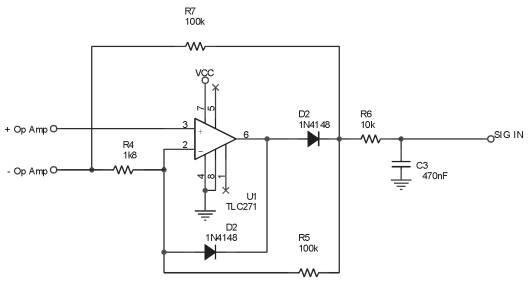 Bagian Penguat Sinyal,penguat sinyal dari sensor