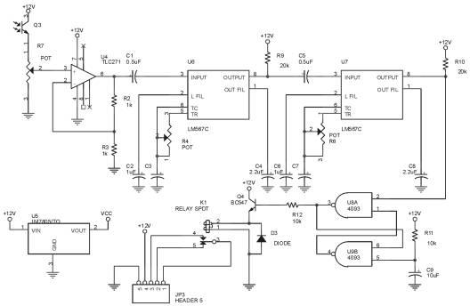 Rangkaian Penerima Infra Merah Remote Control Sepeda Motor