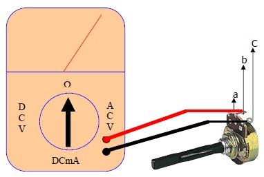 Cara Mengukur Potensiometer
