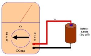 Cara mengukur tegangan DC menggunakan multimeterCara mengukur tegangan DC menggunakan multimeter