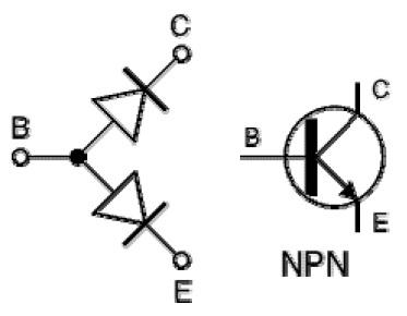 Struktur Dan Simbol Transistor