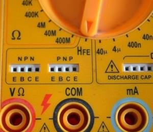 Cara Test Transistor Dengan Multimeter Digital