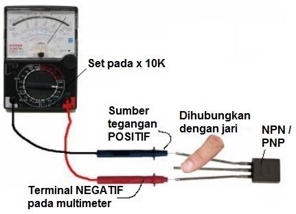 Cara Test Transistor Kaki Emitor Kolektor