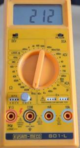 Langkah test transistor dengan multimeter digital