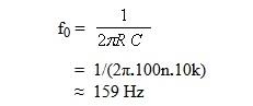 frekuensi yang dilewatkan oleh HPF
