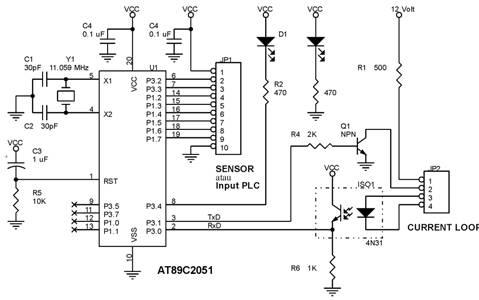 Rangkaian Remote Sensor