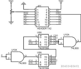 Interface modul M124A dengan MCU