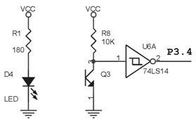 Rangkaian Photo Transistor Dan 74LS14