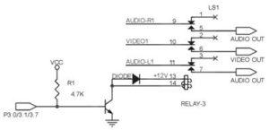 Rangkaian Transistor dan relay