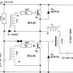 Skema Rangkaian Ballast Elektronik