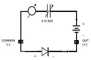 Rangkaian Baterai Multimeter