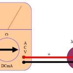 Cara mengukur tegangan AC menggunakan multimeter