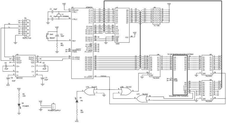 Rangkaian EPROM Emulator